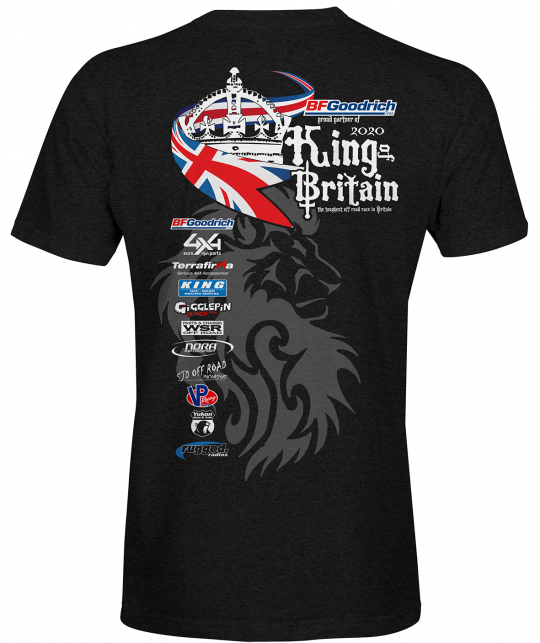 King of Britain 2020 official t-shirt ladies